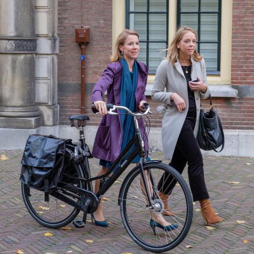 fietsambassadeur staatssecretaris Stientje van Veldhoven