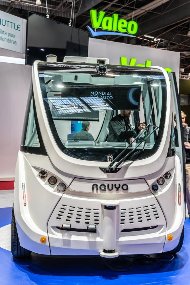 Navya autonome minbus