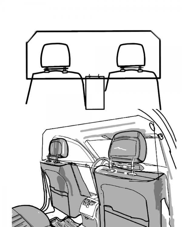 corona spatscherm