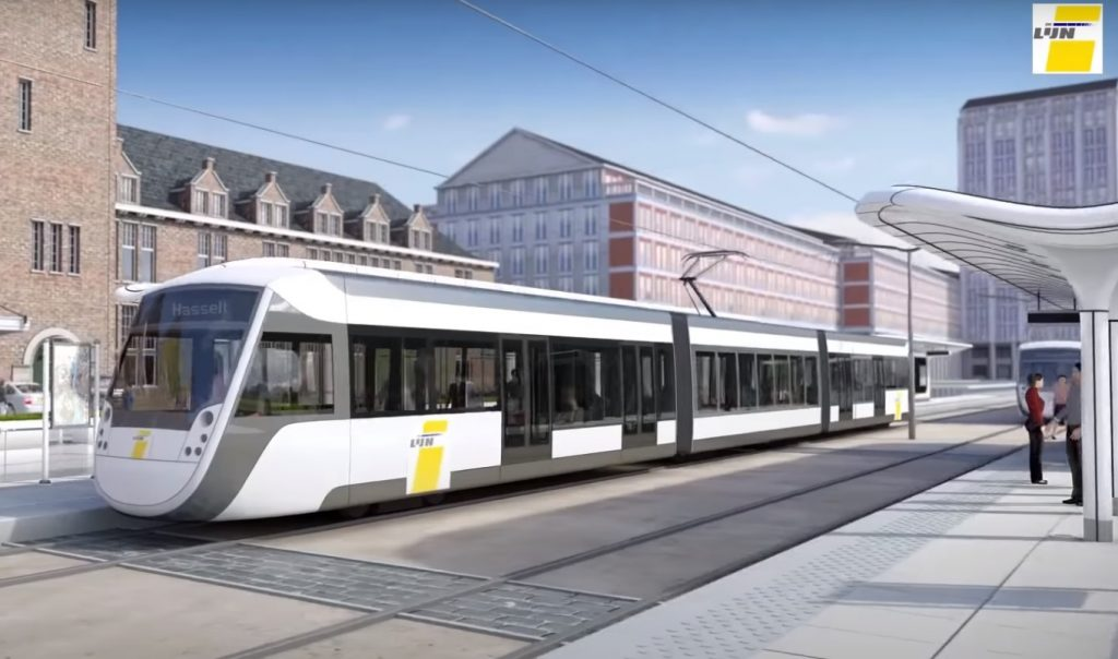 tram station Hasselt