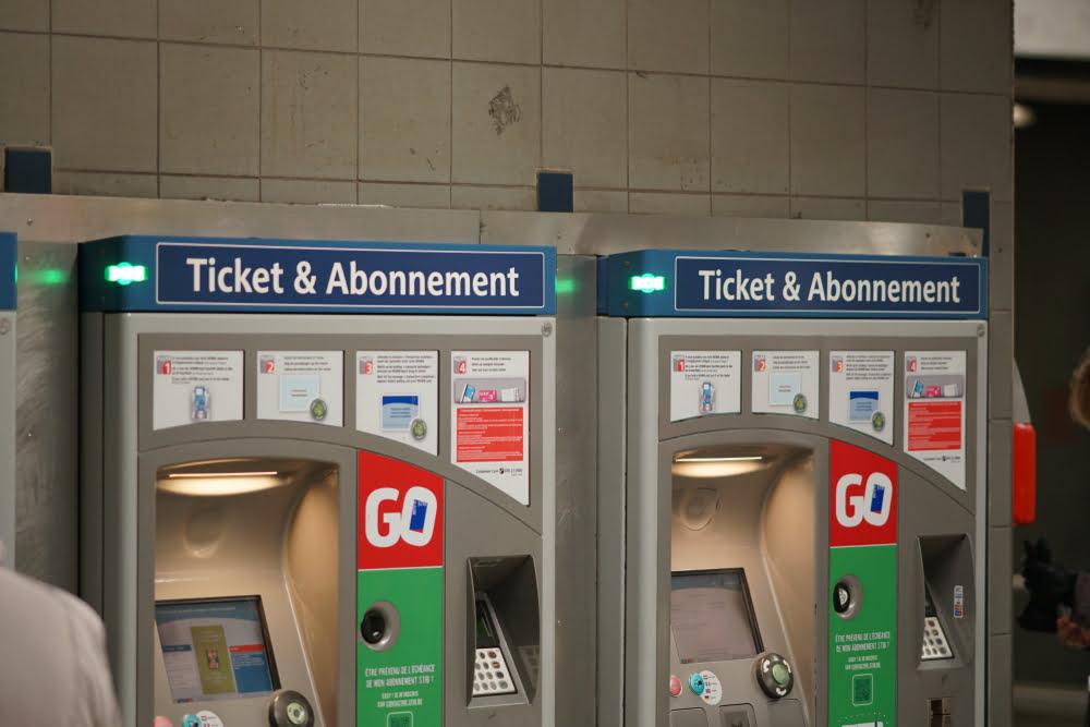 Ticketautomaat STIB-MIVB